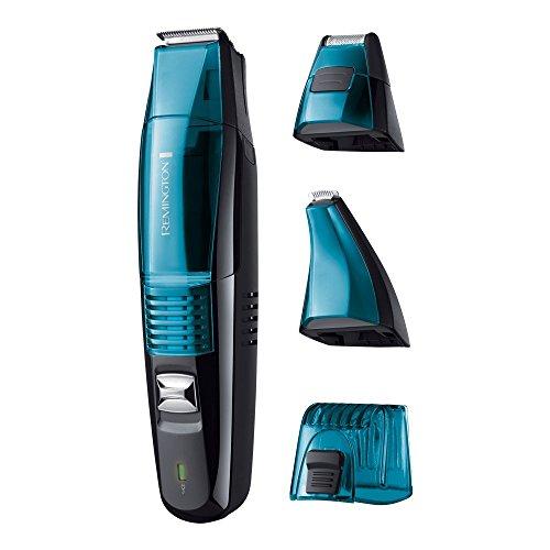 Remington MB6550 Bartschneider Vakuum, Vakuum-Technologie für saubere Grooming-Ergebnisse, schwarz/blau