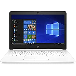 "HP Stream 14-cm0004ns - Ordenador portátil 14"" HD (AMD A4-9125, 4GB RAM, 64GB de almacenamiento, AMD Radeon R3, Windows 10) color blanco - teclado QWERTY Español"