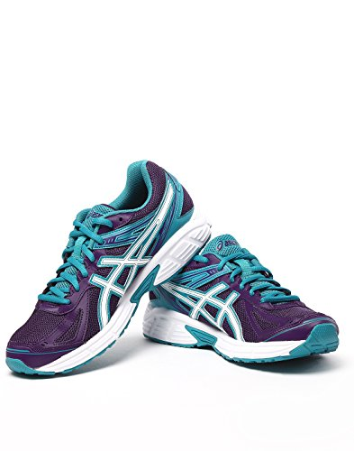 ASICS Women's Gel- Patriot 7 Purple, White and Peacock Blue Mesh Running Shoes -7 UK/India (40.5 EU)(9 US)  available at amazon for Rs.3199