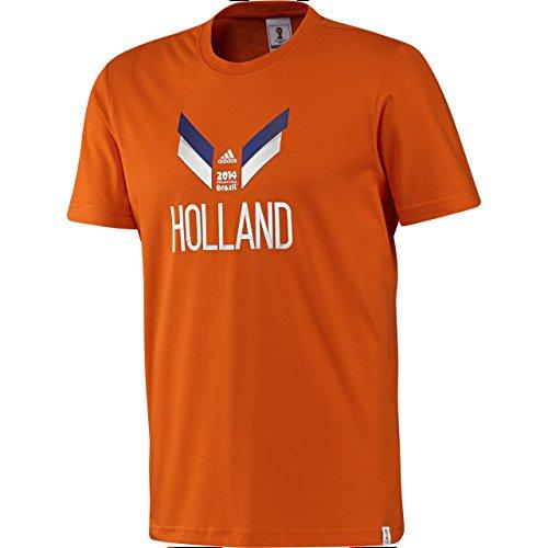 Adidas Holland T-Shirt Retro T-Shirt (ORANGE) Orange
