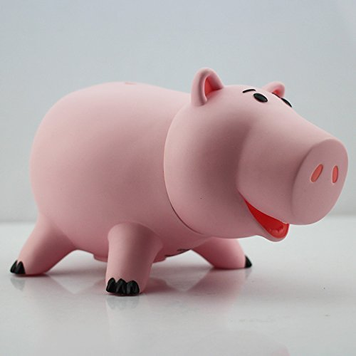 New 2014 Toy Story Hamm Piggy Bank Pink Pig Coin Box