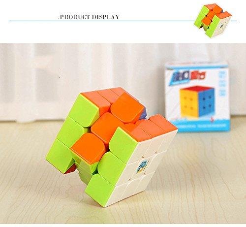 Preisvergleich Produktbild SZCSY Kinder dritter Ordnung Würfel Dekompression Spielzeug intellektuelle Entwicklung Puzzle Spaß traditionelle Spielzeug echte Farbe Würfel Würfel Veranstalter