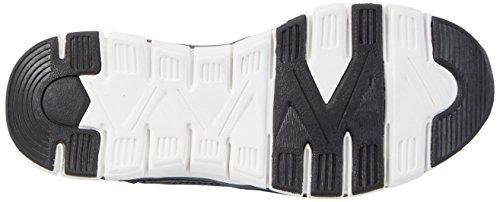 Dockers by Gerli 40sh601-700166, Sneakers Basses Mixte Enfant Noir (Schwarz/navy 166)