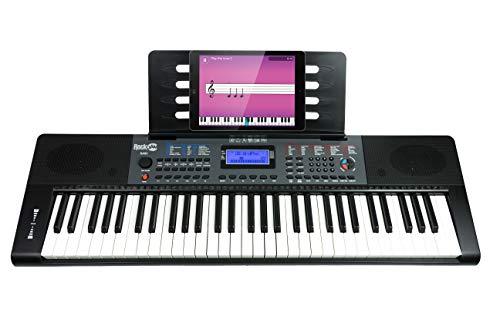 RockJam RJ461 - Teclado piano digital portátil 61