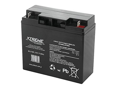 Xtreme Blei-Akku Gel Battery Lead Acid Battery Batterie Akku (12V 17Ah)