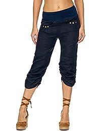 Suchergebnis auf Amazon.de für  Caprihose Leinen - Hosen   Damen ... ff4e2677ac