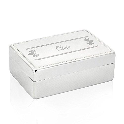 personalisierbar Petals rechteckig Schmuck Box–Kleidung & Zubehör–Schmuck-Boxen–Schmuck (Bee-schmuck-box)