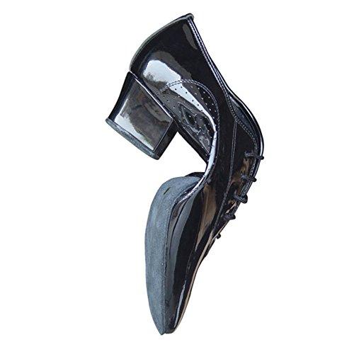 danse latine chaussures/Chaussures de danse en cuir noir souple à la fin de/Chaussures de danse adulte A