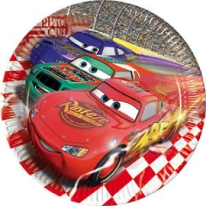 Cars Piston Cup Assiettes Lot de 10 Grand modèle 23 cm
