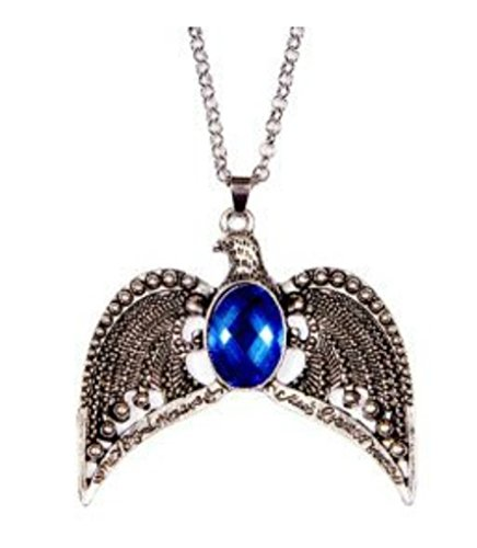 Harry Potter Ravenclaw Lost Diadem horcrux Tiara Necklace/Crown Pendan