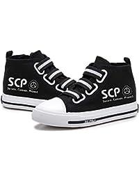 Tjhhkjuo SCP Foundation Zapatos Diseño de Moda Transpirable Velcro Bota Zapatos de Zapatos Zapatos de la Zapatilla No Pies Congestión Planas niños y niñas