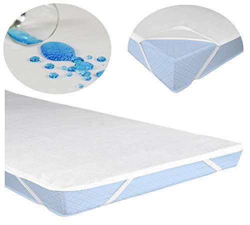 Leonado Vicenti Matratzeschoner Wasserundruchlässig Matratzenauflage Inkontinenz Auflage Schutz, Größe der Matratze:70 x 140 cm