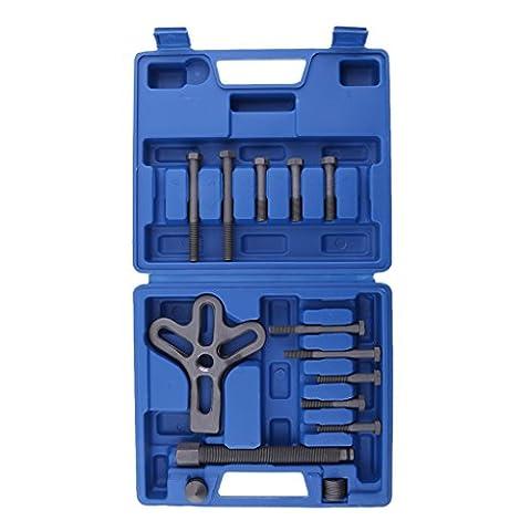 Sharplace Heavy Duty Steering Wheel Harmonic Balancer Pulley Puller Removal Shaft Damper Tool