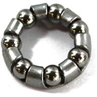 RIDEWILL BIKE Gabbia 7 sfere 3/16'' mozzo anteriore 20mm (Ricambi Mozzi) / Bearing cage 7 balls 3/16'' front hub 20mm (Hub Spare)