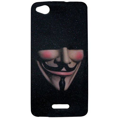 Casotec Designer Soft TPU Back Case Cover for Gionee Ctrl V6L  available at amazon for Rs.99