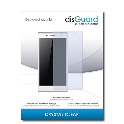 disGuard® Bildschirmschutzfolie [Crystal Clear] kompatibel mit Hisense HS-U988 [3 Stück] Kristallklar, Transparent, Unsichtbar, Extrem Kratzfest, Anti-Fingerabdruck - Panzerglas Folie, Schutzfolie