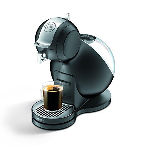Krups KP 2208 Nescafé Dolce Gusto Melody 3 Kaffeekapselmaschine (manuell) schwarz matt