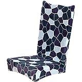 Ularma Impresión floral universal terciopelo Farley cubierta de la silla de comedor (G)