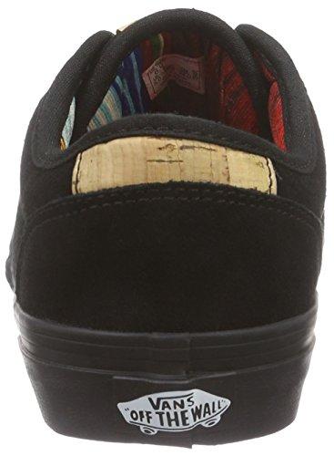 Vans Y Atwood Deluxe Suede, Baskets Basses Mixte Enfant Noir ((suede) Black/b