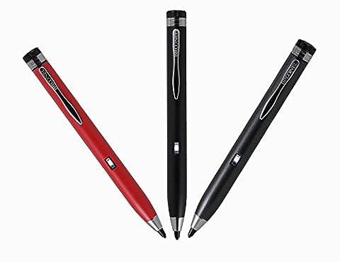 Broonel Precision stylet gris à pointe fine pour Artizlee ATL-31 FHD (1020 x 1200) 4G LTE Touchscreen Tablet