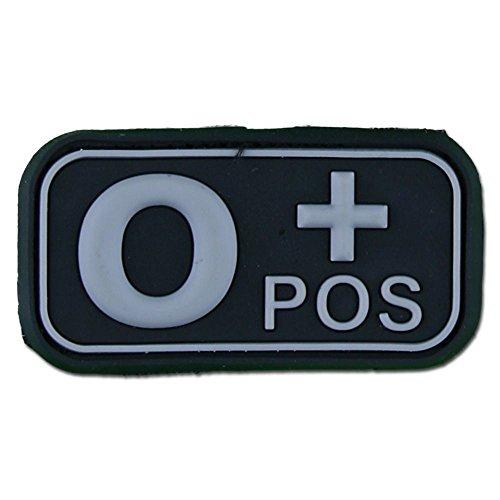 Preisvergleich Produktbild 3D Blutgruppenpatch 0 Pos swat