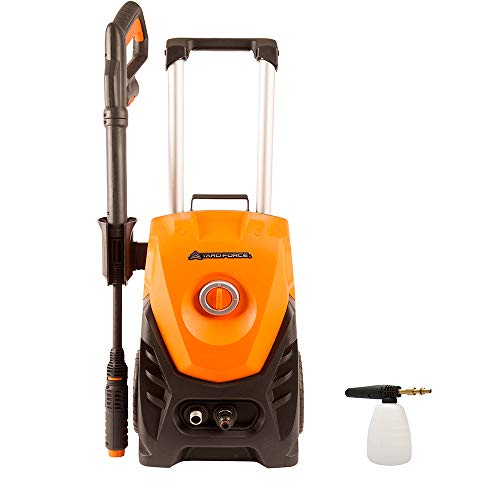 Yard Force 130Bar 1800W High-Pressure Washer with Accessories