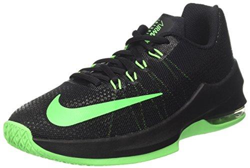 Nike Jungen Air Max Infuriate (Gs) Basketballschuhe, Schwarz (Black/Rage Green), 37.5 EU