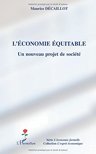 L'économie équitable : Un nouveau projet de ...