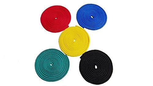 Preisvergleich Produktbild Universalseil Spielseil 5er-Set 8mm - 2,5m pro Seil