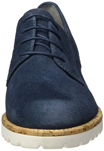 Tamaris 23208, Oxfords Femme Bleu (Denim 802)