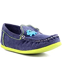 Willy Winkies - Blue Color Genuine Leather Shoes-116 - 24