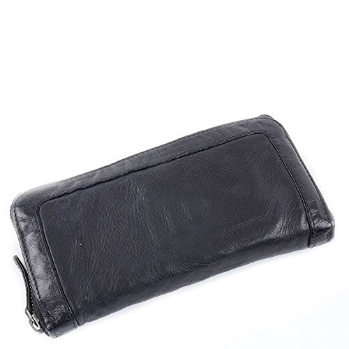 FREDsBRUDER Waxed Wallet Swing Black Nero