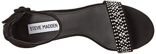 Steve Madden Canastel Dress Sandal Black Suede