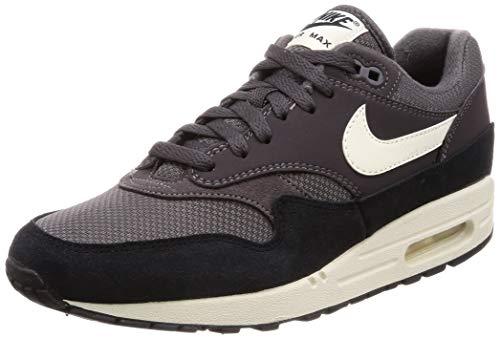 Nike Air Max 1, Chaussures d'Athlétisme Homme, Multicolore (Thunder Grey/Sail/Black 012), 42.5 EU