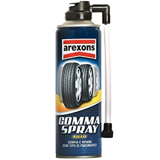 Arexons 8473Rubber Spray for Sealing Punctures and Inflating Tyres