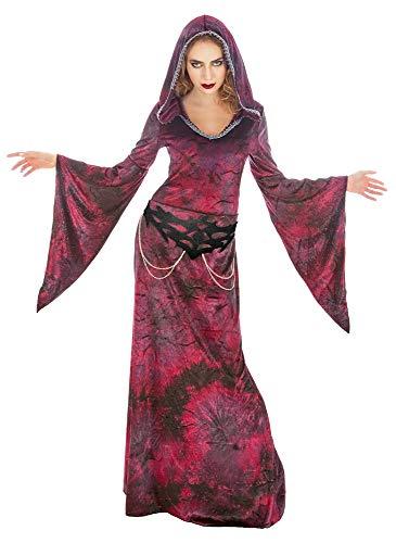 Das Kostümland Rote Priesterin Hexenmeisterin Isabella Kostüm für Damen - Gr. XL