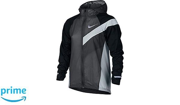 Nike B Nk Jkt Hd Imp Lt Aop Jacket for Boys, Grey (Anthracite Black Pure  Platinum), S  Amazon.co.uk  Sports   Outdoors 11fb264170