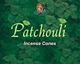 Kamini Cones Incense Case, Patchouli, 12 Piece by Kamini