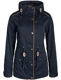 DESIRES Anja Damen Übergangsjacke Jacke mit Kapuze aus hochwertiger Materialqualität
