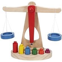 TYKusm - Báscula de equilibrio para niños (madera, ...