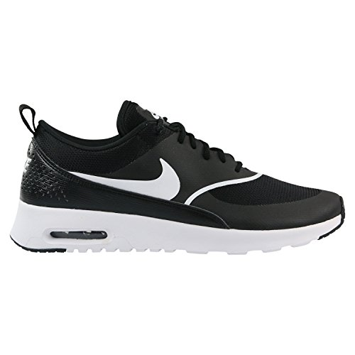 Nike Damen Air Max Thea Sneaker, Schwarz (Black/White 028), 40.5 EU (Air Nike Max Womens)