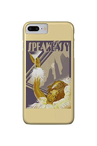 Speakeasy - Flapper Girl (iPhone 7 Plus Cell Phone Case, Slim Barely There)