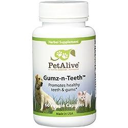 PetAlive Gumz-n-Teeth for Healthy Pet Gums and Teeth (60 Caps)