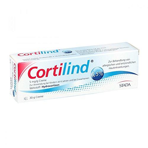 Cortilind 0,5% Hydrocortison Creme 30 g