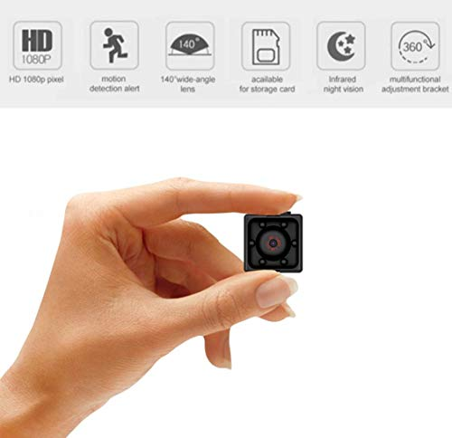 Khool® Mini Cámara Espía Oculta 1080P HD Cámara