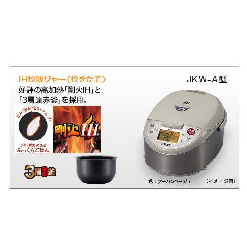 TIGER IH Außerhalb von Japan Reiskocher JKW-A18W (220)(10 cup)