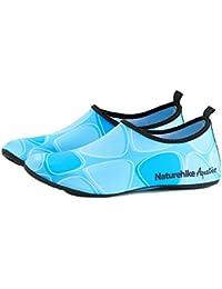 TRIWONDER Zapatos de Agua Zapatos de Piel Calcetines de Aguamarina de  Secado rápido Zapatos Descalzos para la… 2de654e42d7c