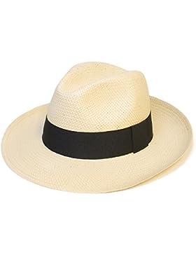 Hombres Mujer Unisexo Verano Tejido Panamá Fedora Trilby Sombreros Gorra  Nuevo 270e6143e18