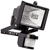 Hillington 400W Motion PIR Sensor Halogen Floodlight Security Garden Outdoor Light-Provided With A