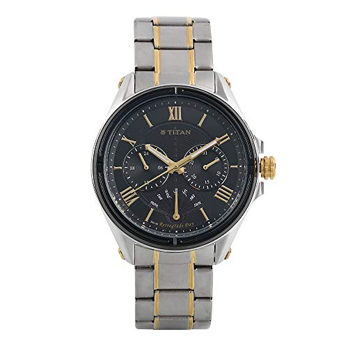 Titan 1717KM01  Multifunction Watch For Unisex